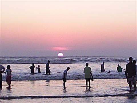 Sun-set At cox's Bazar-1