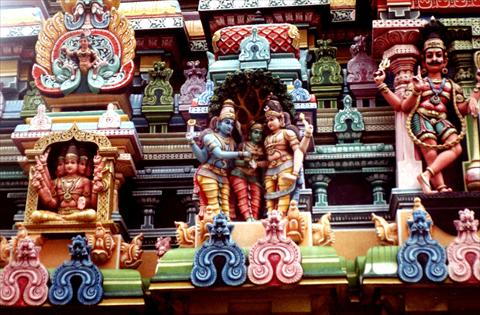 Temple decoration