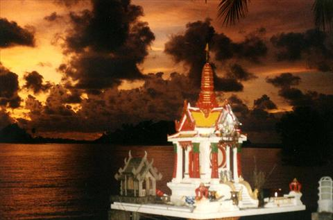 Shrine at the beach